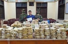 При аресте было изъято 350 кг наркотиков