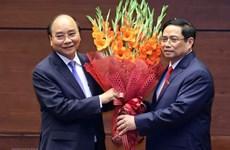 Поздравления новоизбранным руководителям Вьетнама