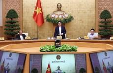 Премьер-министр Фам Минь Тьинь собрал первое заседание правительства после избрания