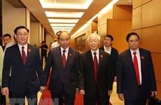 Поздравления высокопоставленным руководителям Вьетнама