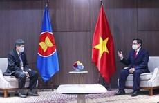 Премьер-министр принял генсека АСЕАН