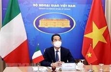 Усиление обмена делегациями на высоком уровне между Вьетнамом и Италией
