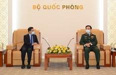 Министр обороны Фан Ван Жанг устроил прием для послов Индии и Южной Кореи