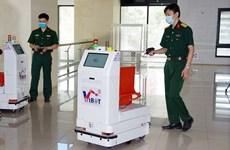 Робот военной разработки отправлен в Бакжанг для поддержки борьбы с COVID-19