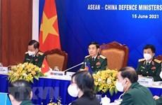 Неофициальная встреча министров обороны АСЕАН - Китай