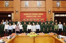 Генеральный секретарь ЦК КПВ Нгуен Фу Чонг возглавил первое заседание Центральной военной комиссии срока полномочий 2020-2025