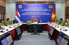 Министр общественной безопасности Вьетнама провел переговоры с министром внутренних дел Кубы
