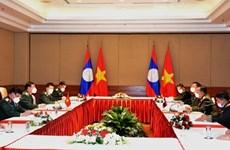Углубляется сотрудничество в сфере обороны между Вьетнамом и Лаосом
