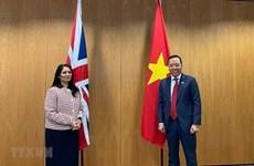 Вьетнам и Великобритания наращивают сотрудничество в сфере безопасности и внутренних дел