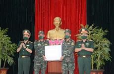 Церемония отправки вьетнамской команды артиллеристов на Международные армейские игры 2021 года