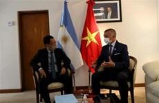 Вьетнам стремится к более тесному сотрудничеству с аргентинской провинцией