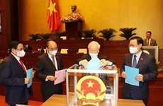 Национальное собрание одобрило переназначение 4 заместителей премьер-министра