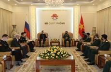 Укрепляется сотрудничество между Вьетнамом и Россией в сфере обороны