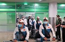 Команда военных из Вьетнама отправилась на Армейские игры 2021