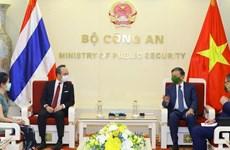 Сотрудничество Министерства общественной безопасности с тайскими агентствами дает практические результаты