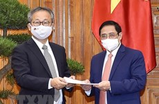 Премьер-министр принял посла Японии Ямаду Такио