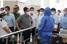 Премьер-министр Фам Минь Тьинь инспектировал меры по профилактике и борьбе с COVID-19 в Хошимине