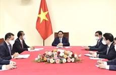 Премьер-министр провел телефонный разговор с премьер-министром Бельгии