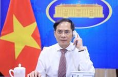 Министр иностранных дел Буй Тхань Шон провел телефонный разговор с министром иностранных дел Сербии