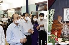 Президент страны воскурил благовония в память о президенте Хо Ши Мине