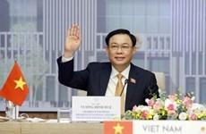 Председатель Национального собрания провел онлайн-беседу с председателем Национального собрания Таиланда