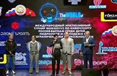 Международный инклюзивный турнир 2021-го года по киберспорту Россия-Вьетнам