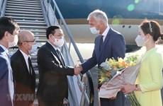 Председатель НС прибыл в Брюссель и начал свой рабочий визит в Европарламент