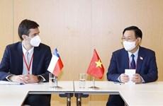 Председатель Национального собрания Выонг Динь Хюэ совершил высокопоставленные встречи в кулуарах WCSP5