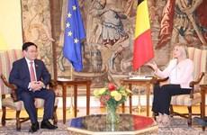 Председатель Национального собрания Выонг Динь Хюэ провел переговоры со спикером Палаты представителей Королевства Бельгия