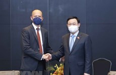 Председатель НC Выонг Динь Хюэ принял руководителей Siemens Energy Corporation