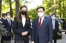 Председатель НC Выонг Динь Хюэ успешно завершил свой визит в  Европу