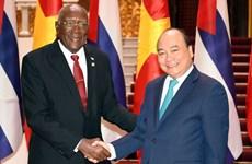 Визит главы государства продолжает отношения солидарности между Вьетнамом и Кубой