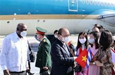 Президент Нгуен Суан Фук прибыл в Гавану, начиная официальный дружественный визит на Кубу