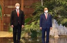 Кубинские СМИ освещают визит президента Нгуен Суан Фука