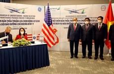 Президент Нгуен Суан Фук свидетельствовал подписание соглашения о сотрудничестве между Bamboo Airways и General Electric