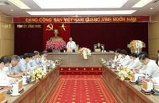 Виньфук должна активизировать изучение, выполнение резолюции XIII всевьетнамского съезда партии