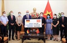 Доставлено 2,6 миллиона доз вакцины против COVID-19, подаренной правительством Германии Вьетнаму