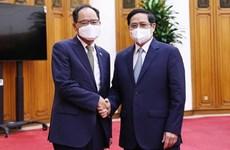 Премьер-министр Фам Минь Тьинь устроил прием для посла Южной Кореи во Вьетнаме