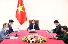Премьер-министр Фам Минь Тьинь провел телефонный разговор с вице-президентом Турции Фуатом Октаем