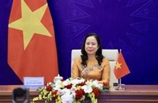 Вице-президент страны Во Тхи Ань Суан принимает участие в третьем Евразийском женском форуме