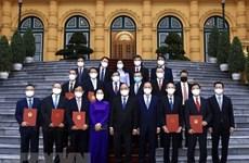 Президент государства Нгуен Суан Фук дал поручения послам и главам представительств Вьетнама за рубежом