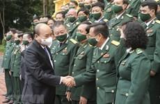 Президент встретился с делегатами Ассоциации предпринимателей - ветеранов Вьетнама