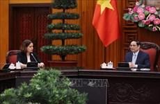 Премьер-министр Фам Минь Тьинь принял посла Австралии во Вьетнаме