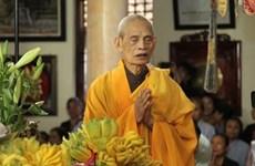 Ушел из жизни верховный патриарх буддийской Сангхи Вьетнама