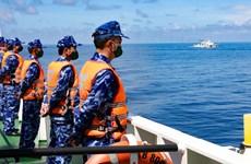 Вьетнамская и китайская береговая охрана проводят совместное патрулирование в Тонкинском заливе