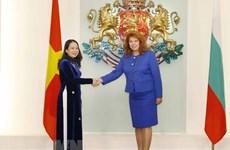 Вице-президент Во Тхи Ань Суан встретилась с руководителями Болгарии