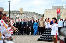 Высокопоставленная делегация Коммунистической партии Вьетнама совершила рабочий визит на Кубу