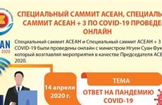 Специальный саммит АСЕАН, специальный саммит АСЕАН+3 по COVID-19