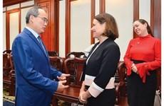 Город Хошимин стремится расширить экономические связи с Австралией