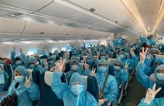 Более 300 вьетнамцев доставлены из Малайзии